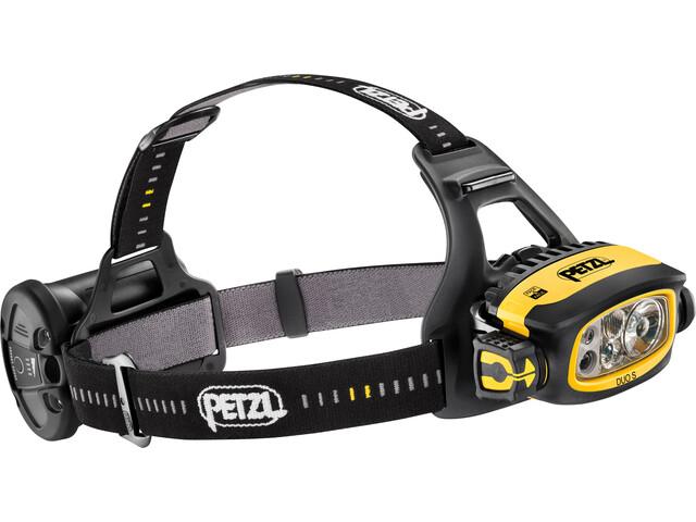 Petzl Duo S Lampe frontale, noir/jaune